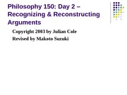 Philosophy 150Day2N