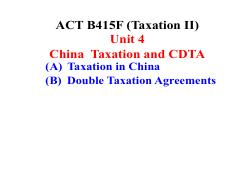 Taxation II (ACT B415) Unit 4 - 2020 Spring Term (revised).pdf