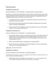 Homework Questions 3-26 to 4-10