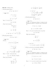 Homework 5 Solution Fall 2007 on Differential Equations with Linear Algebra 1