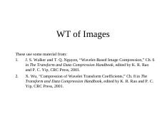 Ch_15_3 WT of Images (PPT)