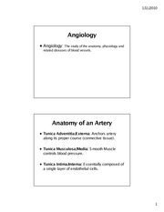 Angiology