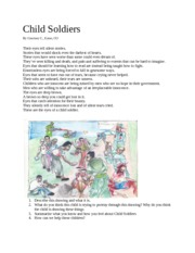 Child Soldiers hw assignment