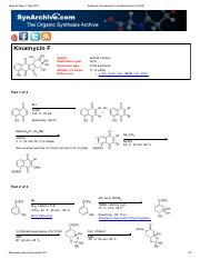 Synthesis of Kinamycin F by Seth B.pdf