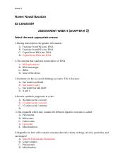 ASSIGNMENT CHAPTER 3