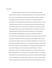 Topics Of Essays For High School Students  Pages Course Finaldocx High School Essays Examples also Good English Essays Examples Oral History Project Reflection Essay  Rodriguez  Oral History  Examples Of An Essay Paper