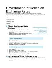 Int'l Finance_Jeff Madura_Ch 06_Government Influence on Exchange Rates.docx