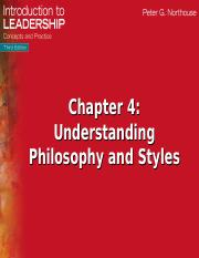 Ch.4 Philosphy and Styles.ppt