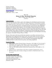 HIST 389-British Monarchy syllabus0fall 2014(1)-2