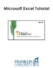 Excel2003Tutorial