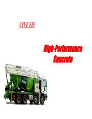 7 high performance concrete
