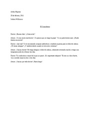 Spanish intermediate 1 essay 1