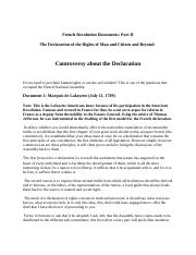 French Revolution Documents 2