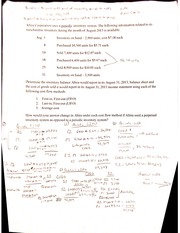 Chapter 8 Homework 2 With Answers