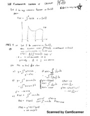 Calc 1 Notes, FTC and Usurping