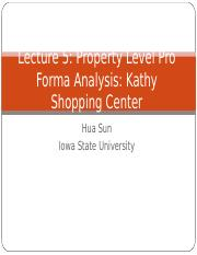 Lecture 5 Property Level Pro Forma(1)