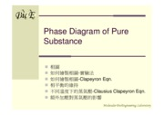11-Phase Diagram of Pure Substance