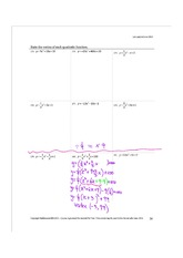 Completing the square to find values, graphing, real life applications