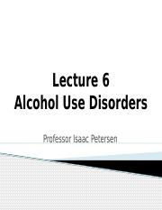 Lecture 6 Alcohol Use Disorders_ICON