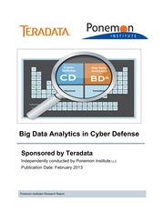 A Ponemon Study - Big Data Analytics in Cyber Defense