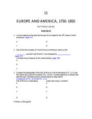 Study_guide_Europe_and_America_1750-1850