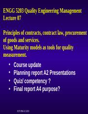 L07 ENGG 5203 S2 17 PPT Quality in  contracts.ppt