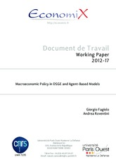 Macroeconomic Policy in DSGE and Agent-Based Model