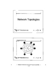 Lecture 2 - Network Topologies