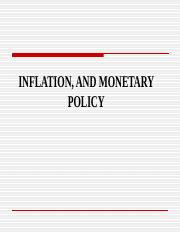 Inflation and Monetary Policy.ppt