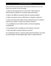 ADJ 4 final exam review questions