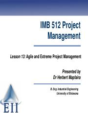 Lesson 13 Agile and Extreme Project Management 2014.pdf