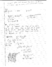 AP Calculus question and answer notes