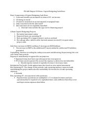 FN 440 Chapter 10 Notes
