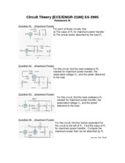 Circuit_Theory_Homework_Assignment__4