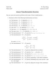 03 Linear Transformations - Exercise.pdf