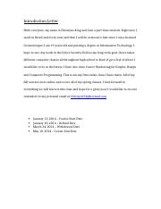 Introduction Letter- ITP 100.docx