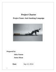 Project Charter w