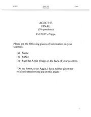 AGEC_105_FINAL_EXAM_Fall_2012_KEY