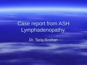 case report from ASH