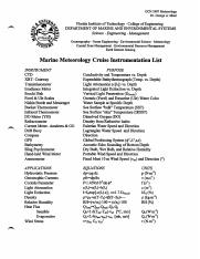 Cruise Instruments List.pdf