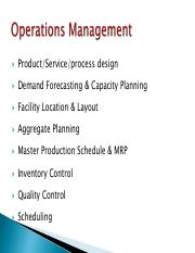 OM - Session 9 - Capacity planning.pdf