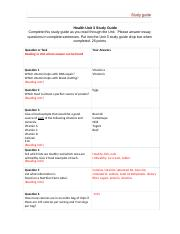 Health Unit 3 Study Guide (2).docx