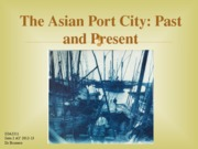 The Asian Port City_ Past and Present student copy AY2012-13 (1)