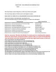 case study 2 devry university acct