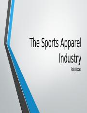 Sports Apparel Industry.pptx