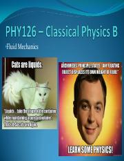 02 - Fluid Mechanics