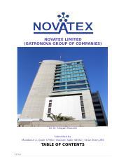 Nova tex неполученная выгода