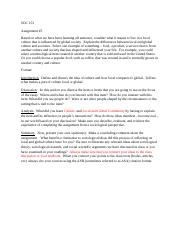 #5 Instructions for Assignment 5 Local and Global Culture Assign #5.docx