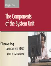 Chapter 04 The components of the system unit.ppt
