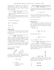 Quest 3 - Chapter 4 - Newton's Laws Solutions